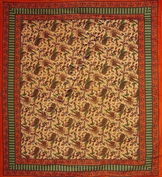 BIG INDIAN BEDSPREAD TI-GM01-002 - Oriente Import S.r.l.
