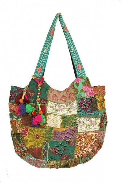 EMBROIDERED SHOULDER BAGS BS-IN64 - Oriente Import S.r.l.