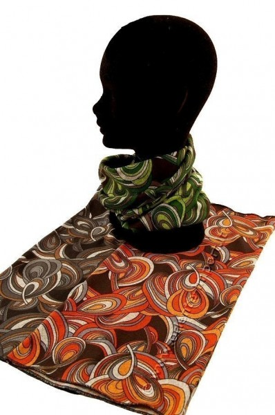 SCARFS IN FABRIC WITH ELASTAN AB-BNS03A - Oriente Import S.r.l.
