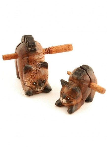 WOODEN ANIMAL FIGURES GI-FARC17-18 - Oriente Import S.r.l.
