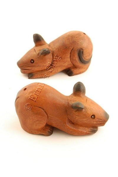 WOODEN ANIMAL FIGURES GI-FARC20 - Oriente Import S.r.l.