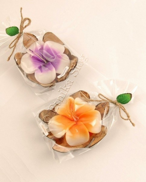 CANDLES - TEALIGHT CANDLES LUM-COC06-02 - Oriente Import S.r.l.