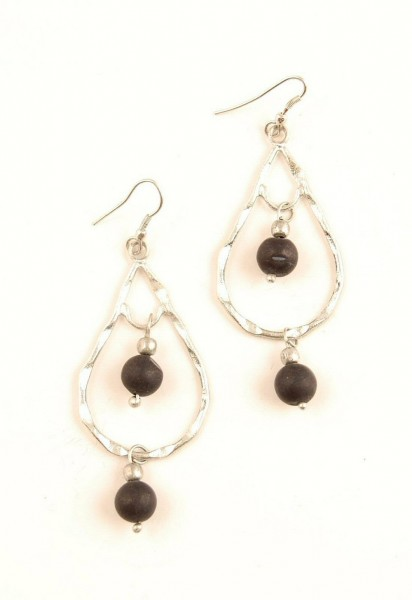 EARRINGS - METAL MB-OR44-ARG - Oriente Import S.r.l.