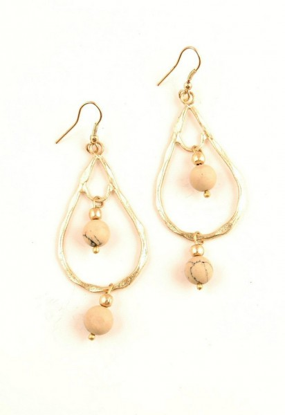 EARRINGS - METAL MB-OR44-ORO - Oriente Import S.r.l.