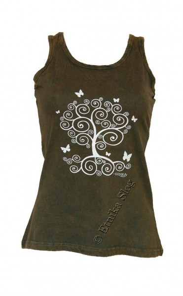 COTTON TANK TOPS - STONEWASHED WITH PRINT AB-NPM04-12 - Oriente Import S.r.l.