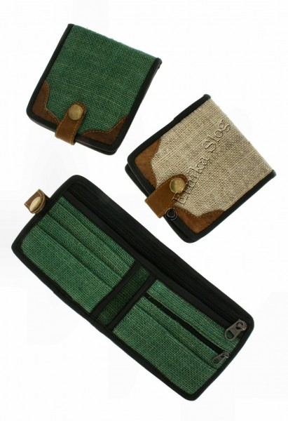 PURSES AND WALLETS IN HEMP CNP-PM06 - Oriente Import S.r.l.