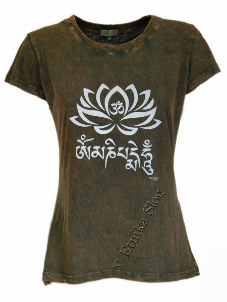 COTTON T-SHIRTS - STONEWASHED WITH PRINT AB-NPM03-17B - Oriente Import S.r.l.