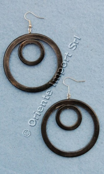 HORN EARRINGS CO-OR08 - Oriente Import S.r.l.