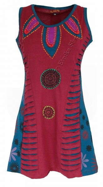 SHORT SLEEVE AND SLEEVELESS COTTON DRESSES AB-BSV10 - Etnika Slog d.o.o.