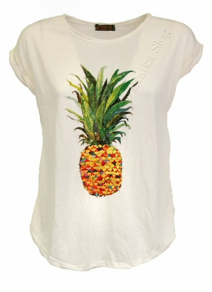 T-SHIRT AND TOP PRINTED - WOMEN AB-BCT08-18 - Oriente Import S.r.l.