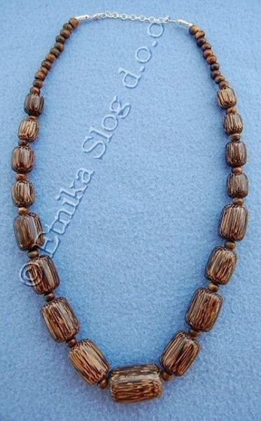 NECKLACES - WOOD LE-CLPA04 - Oriente Import S.r.l.