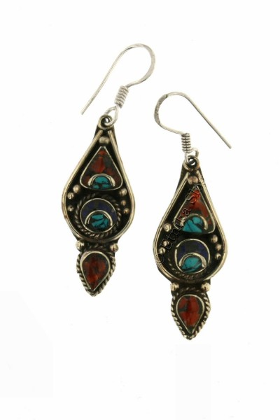 EARRINGS - METAL OR-NP02 - Oriente Import S.r.l.
