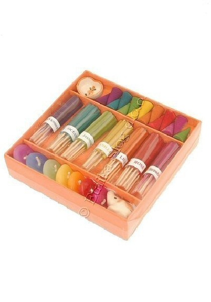 INCENSI SET - CONFEZIONE REGALO INC-4SET13 - Oriente Import S.r.l.