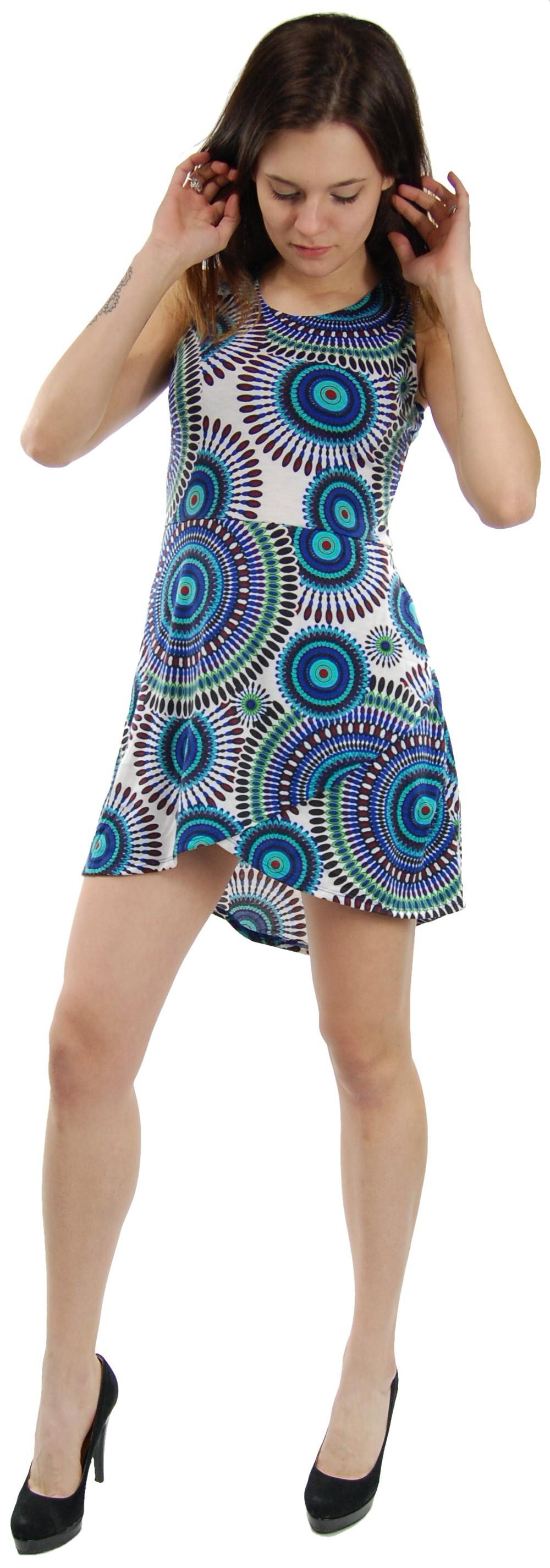 SUMMER SLEEVELESS JERSEY DRESSES AB-MRS377-F2 - com Etnika Slog d.o.o.