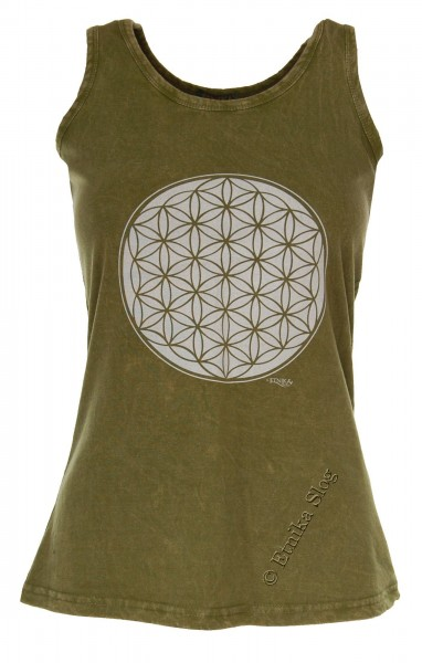 COTTON TANK TOPS - STONEWASHED WITH PRINT AB-NPM04-09 - Oriente Import S.r.l.