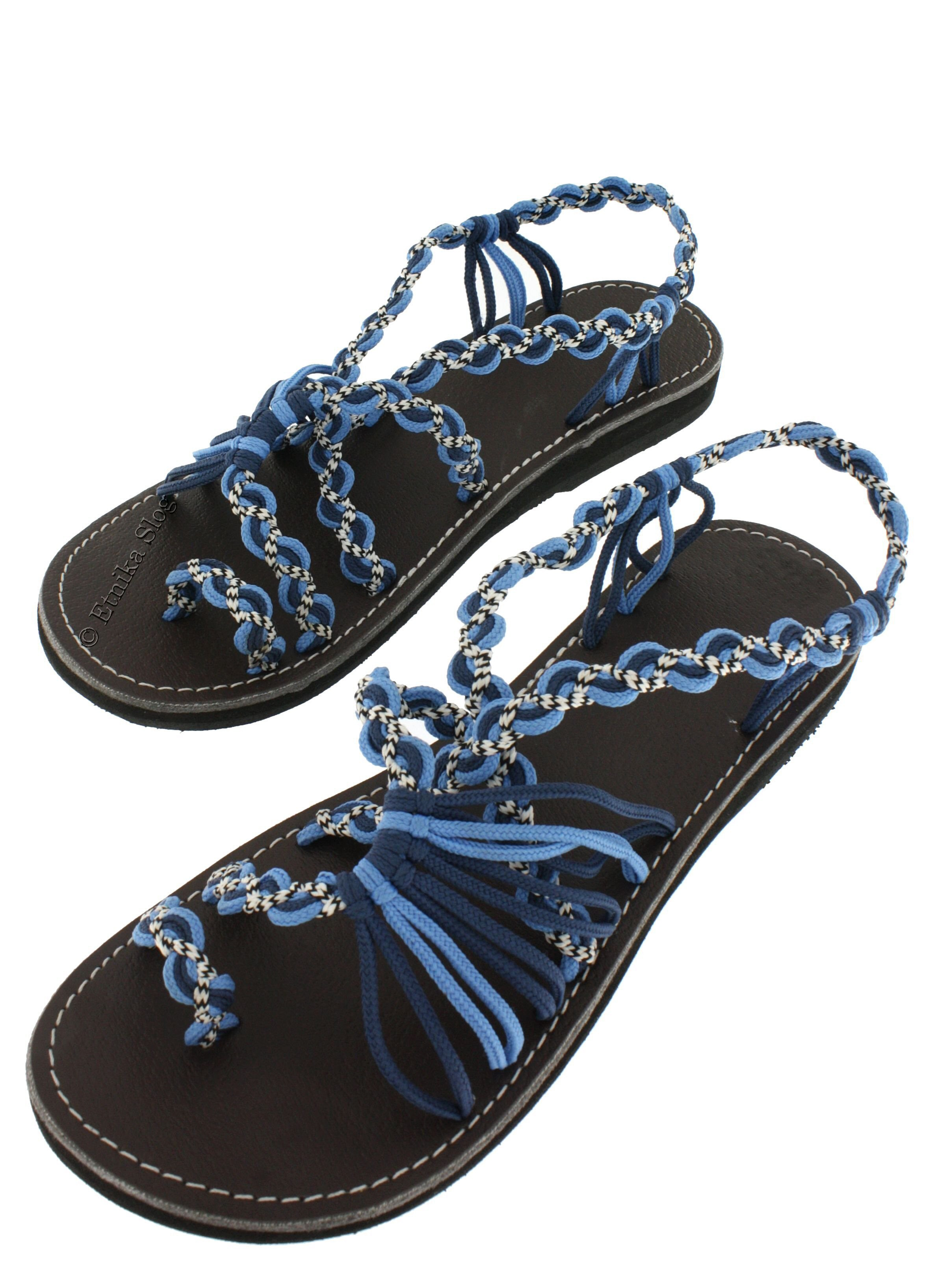 SANDALS IN LEATHER SN-AP05-AB - Oriente Import S.r.l.