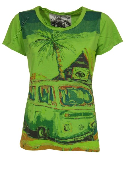 T-SHIRT WOMEN'S COTTON - MIRROR / SURE AB-THM08-25 - Oriente Import S.r.l.