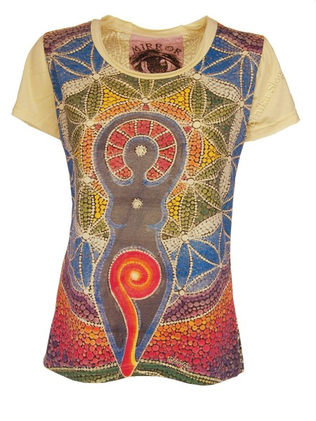 T-SHIRT WOMEN'S COTTON - MIRROR / SURE AB-THM08-30 - Oriente Import S.r.l.
