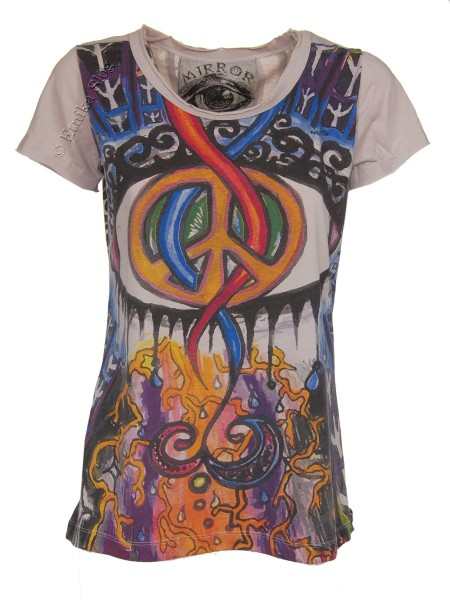 T-SHIRT WOMEN'S COTTON - MIRROR / SURE AB-THM08-31 - Oriente Import S.r.l.