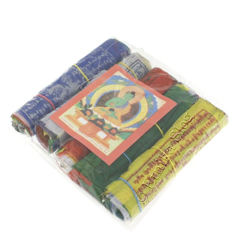 TIBETAN FLAGS AND DECORATIVE BANDS OG-BASET101 - Oriente Import S.r.l.