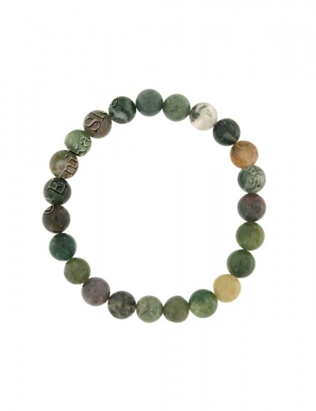 STONE BRACELET OF 8 - 10 mm - WITH ELASTIC PD-BR03-18 - Etnika Slog d.o.o.