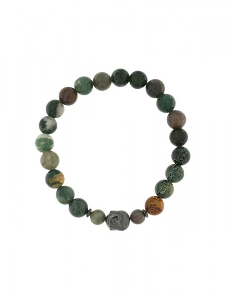 BUDDHA STONE BRACELET OF 8 mm PD-BR10-05 - Oriente Import S.r.l.