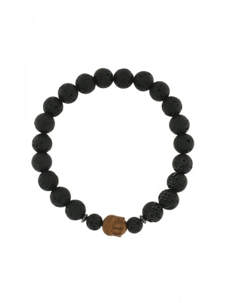 BUDDHA STONE BRACELET OF 8 mm PD-BR10-03 - Oriente Import S.r.l.