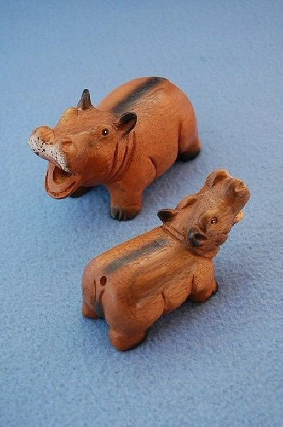WOODEN ANIMAL FIGURES GI-FARC12 - Oriente Import S.r.l.