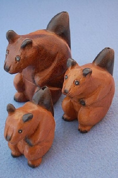 WOODEN ANIMAL FIGURES GI-FARC24 - Oriente Import S.r.l.