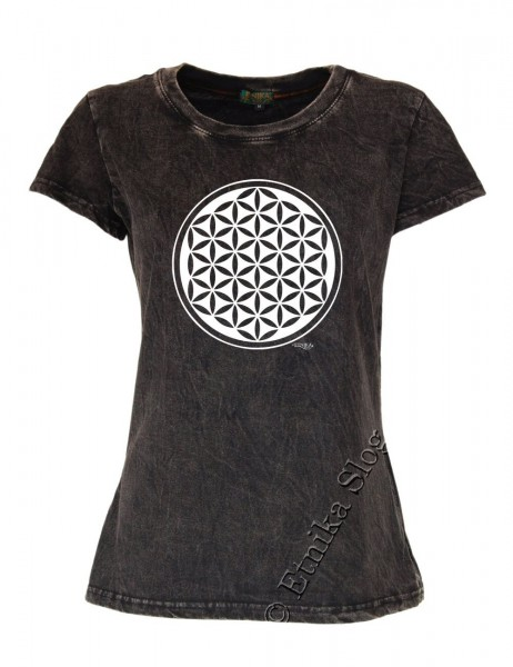 COTTON T-SHIRTS - STONEWASHED WITH PRINT AB-NPM03-14 - Oriente Import S.r.l.