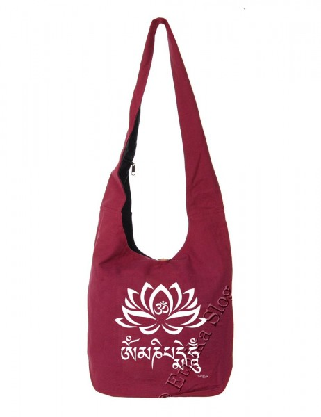 BAG SHOULDER BAG - COTTON PLAIN BS-NE06-17B - Oriente Import S.r.l.