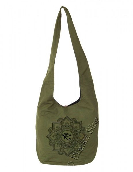 BAG SHOULDER BAG - COTTON PLAIN BS-NE06-30 - Oriente Import S.r.l.
