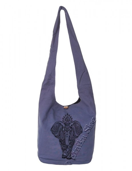 BAG SHOULDER BAG - COTTON PLAIN BS-NE06-31B - Oriente Import S.r.l.