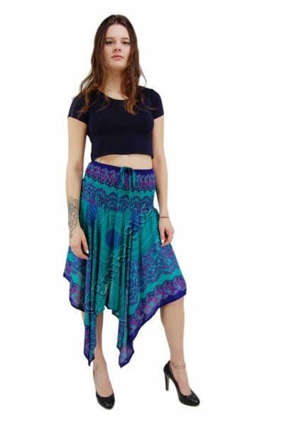 LONG SUMMER SKIRTS AB-BCV10CE-SKIRT - com Etnika Slog d.o.o.