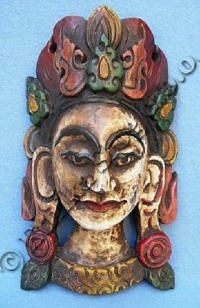 DECORATIVE MASKS MAS-LE03-2 - Oriente Import S.r.l.