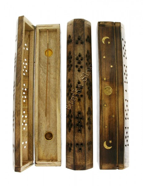 INCENSE HOLDERS WOODEN BOX PI-BG03-02 - Etnika Slog d.o.o.