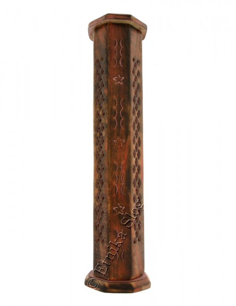 INCENSE HOLDER - WOODEN PILLAR PI-BG44-01 - com Etnika Slog d.o.o.