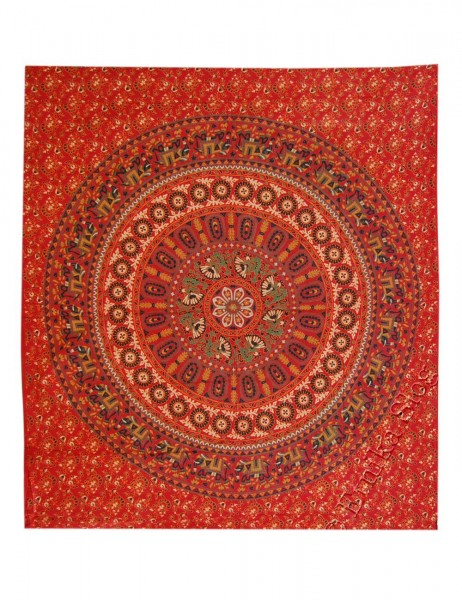 BIG INDIAN BEDSPREAD TI-GM01-01 - Oriente Import S.r.l.