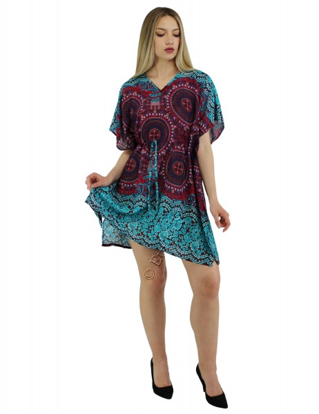 VISCOSE SUMMER DRESSES AB-BCV09DO - Etnika Slog d.o.o.