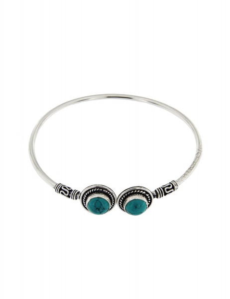 WHITE METAL BRACELETS WITH CRYSTALS MB-BRT32 - Oriente Import S.r.l.
