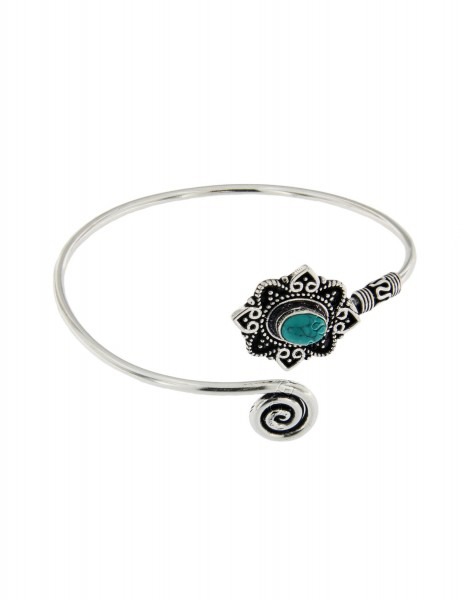 WHITE METAL BRACELETS WITH CRYSTALS MB-BRT30 - Oriente Import S.r.l.