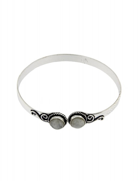 WHITE METAL BRACELETS WITH CRYSTALS MB-BRT31 - Oriente Import S.r.l.