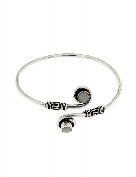 WHITE METAL BRACELETS WITH CRYSTALS MB-BRT28 - Oriente Import S.r.l.