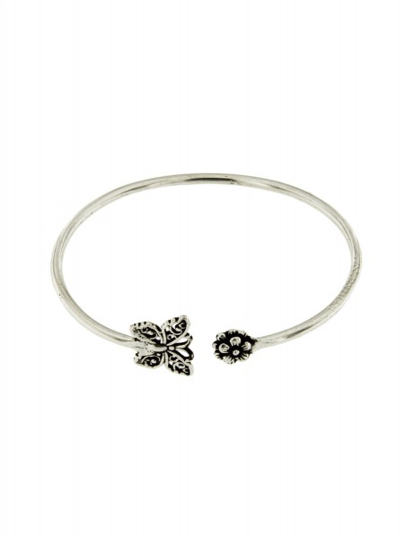 WHITE METAL BRACELETS WITH CRYSTALS MB-BRT35-02 - Oriente Import S.r.l.