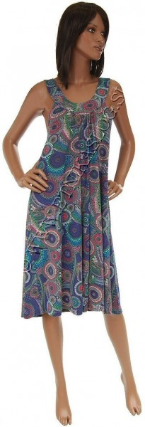 DRESSES IN JERSEY COTTON, SLEEVELESS AB-BDS06A - Oriente Import S.r.l.