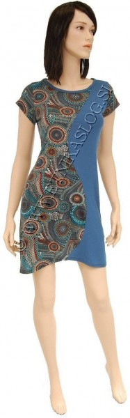 SUMMER JERSEY DRESSES WITH SHORT SLEEVES AB-BDS01A - Oriente Import S.r.l.
