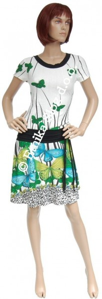 SUMMER JERSEY DRESSES WITH SHORT SLEEVES AB-MRS257AF - Oriente Import S.r.l.
