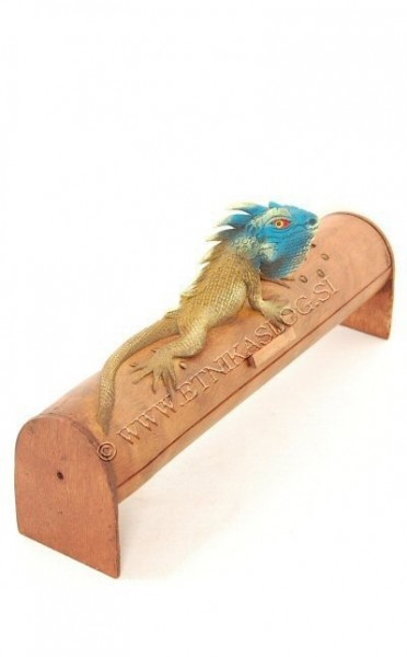 INCENSE HOLDER FROM BAMBOO AND RESIN PI-THL04B-BL - Oriente Import S.r.l.