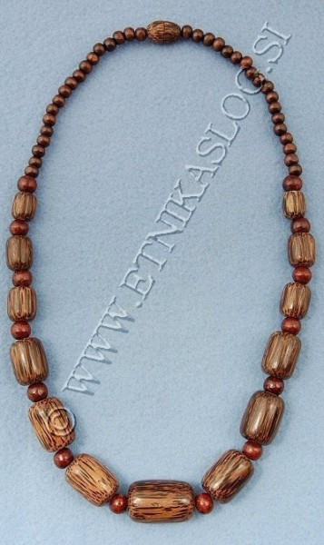 NECKLACES - WOOD LE-CLPA11 - Oriente Import S.r.l.