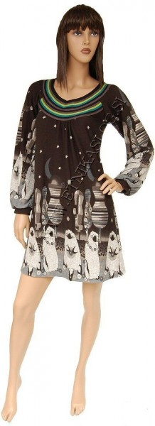 DRESSES WITH LONG SLEEVES AB-MRW060AU - com Etnika Slog d.o.o.